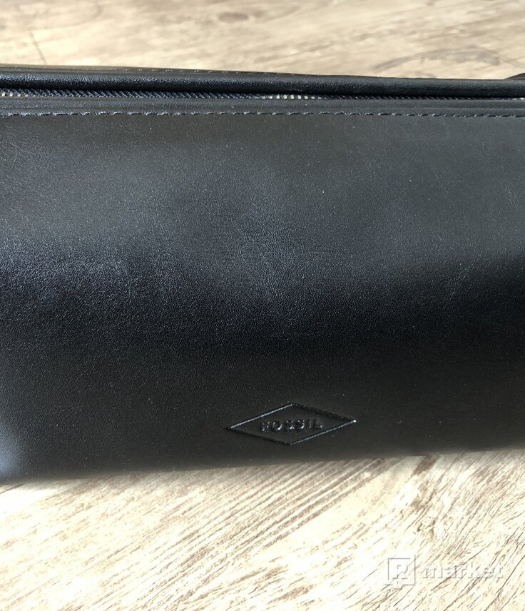 Kožená kozmetická taška FOSSIL