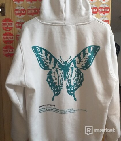 Butterfly effect hoodie white