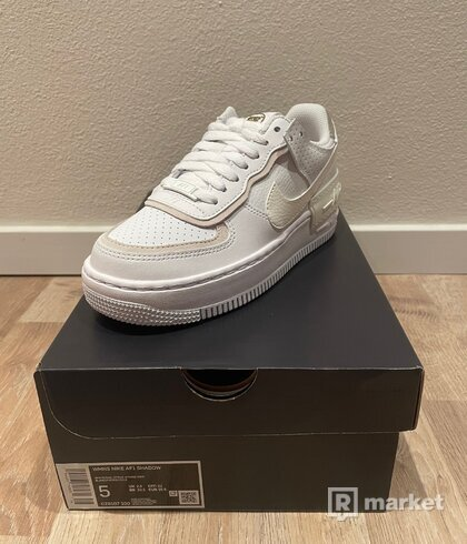 Nike Air Force 1 Shadow White Stone Atomic Pink