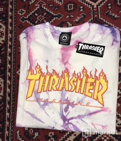 Thrasher CUSTOM Flame Logo Tee 🟠