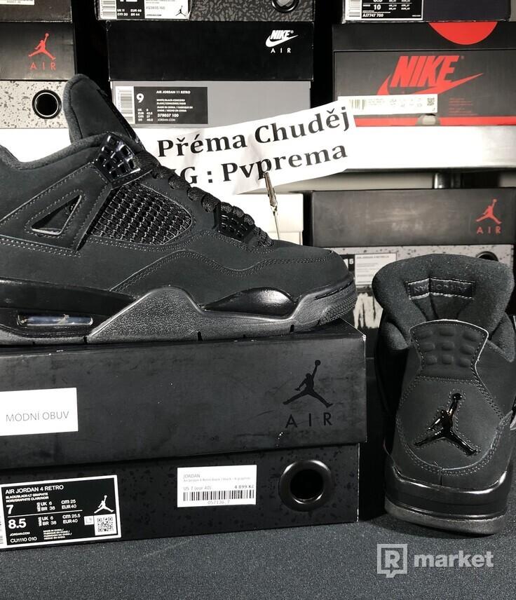 """Air Jordan Retro 4 """"Black Cat"""""""