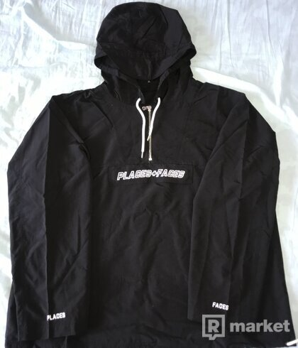 P+F Embroidered Logo Anorak