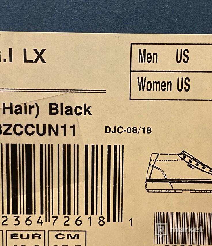 Vans OG G.I LX (Pony Hair) Black