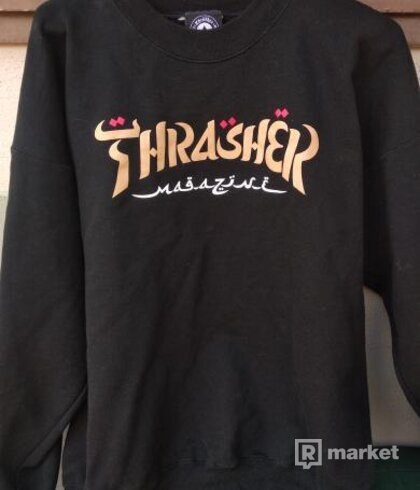 Thrasher calligraphy