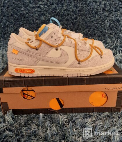 Nike Dunk low off-white lot 34