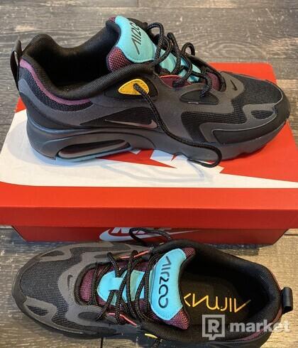 Nike Air Max 200 Black / Anthracite - Bordeaux
