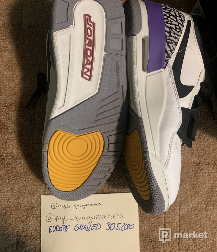 AIR Jordan 312 Legacy Low Lakers 2xUS8/EUR41