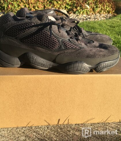 Yeezy 500 utility black US8