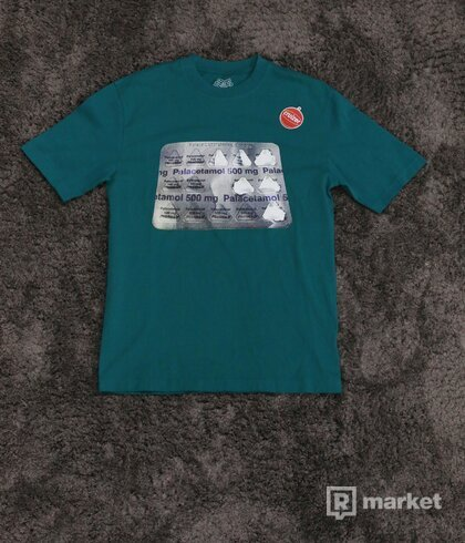 Palace Palacetamol Tee Sea Green