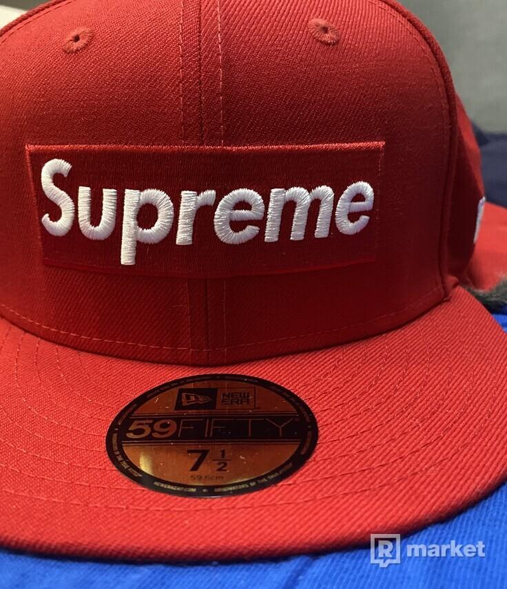 Supreme x New Era Earflap
