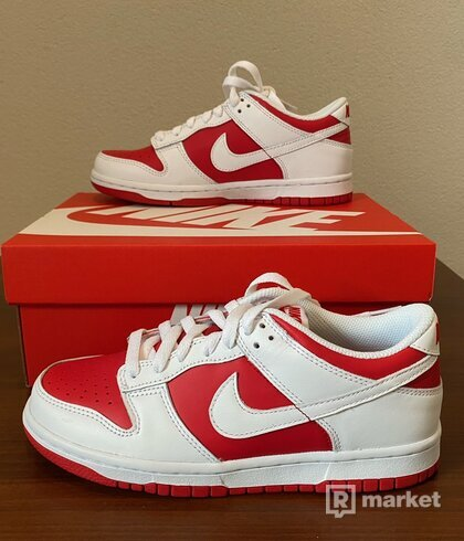 Topánky Nike Dunk Championship Red