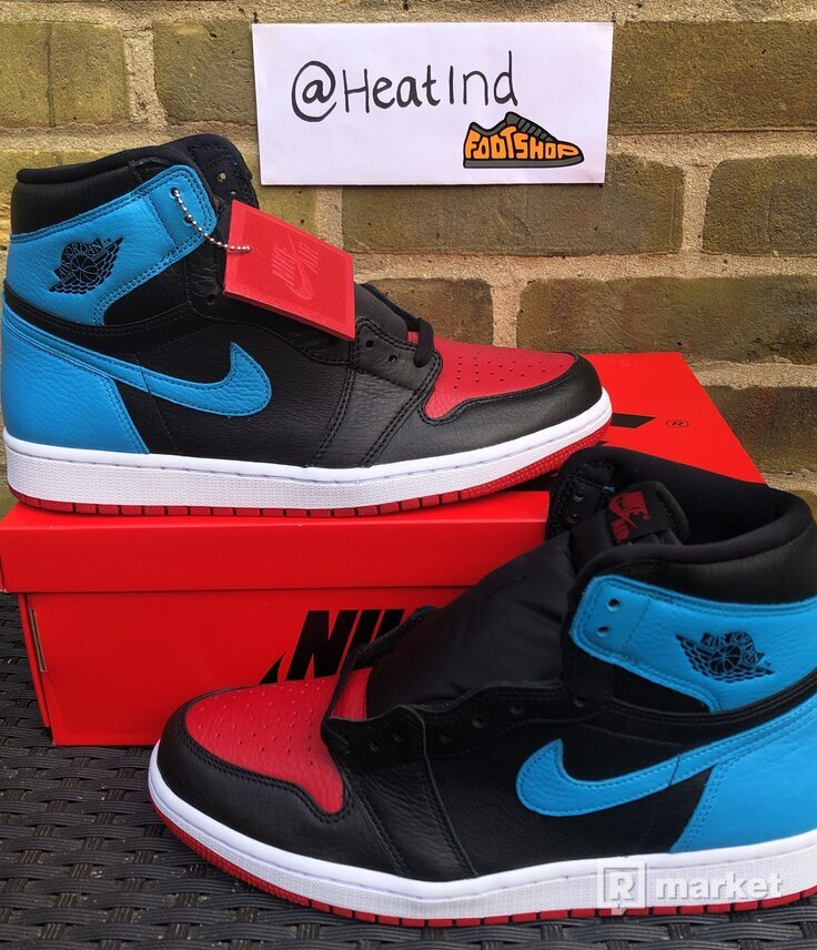 Jordan 1 High Retro Unc To Chi Men's