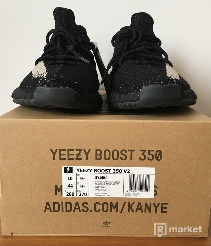 "Adidas Yeezy Boost 350 V2 ""Oreo"" US10"