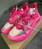 Nike X Off White Zoom Fly Tulip Pink