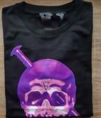 Vlone Screwhead Purple Skull Tee