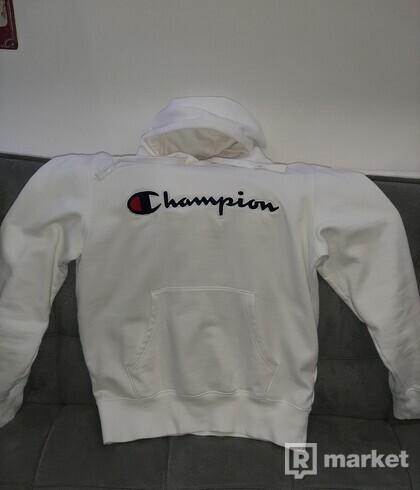 Champion hoodie biela