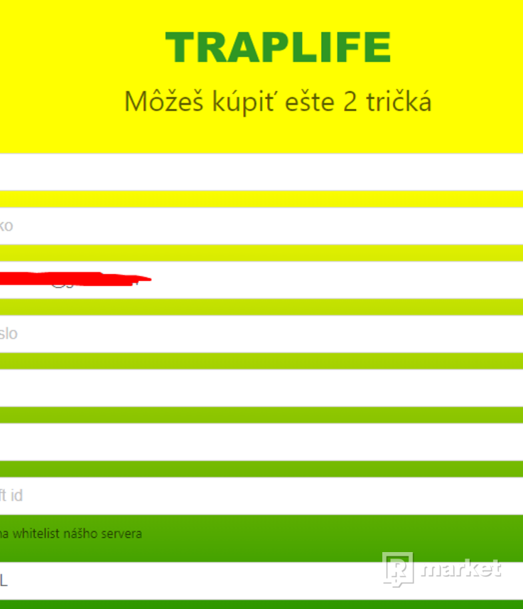 Traplife Žilina QR