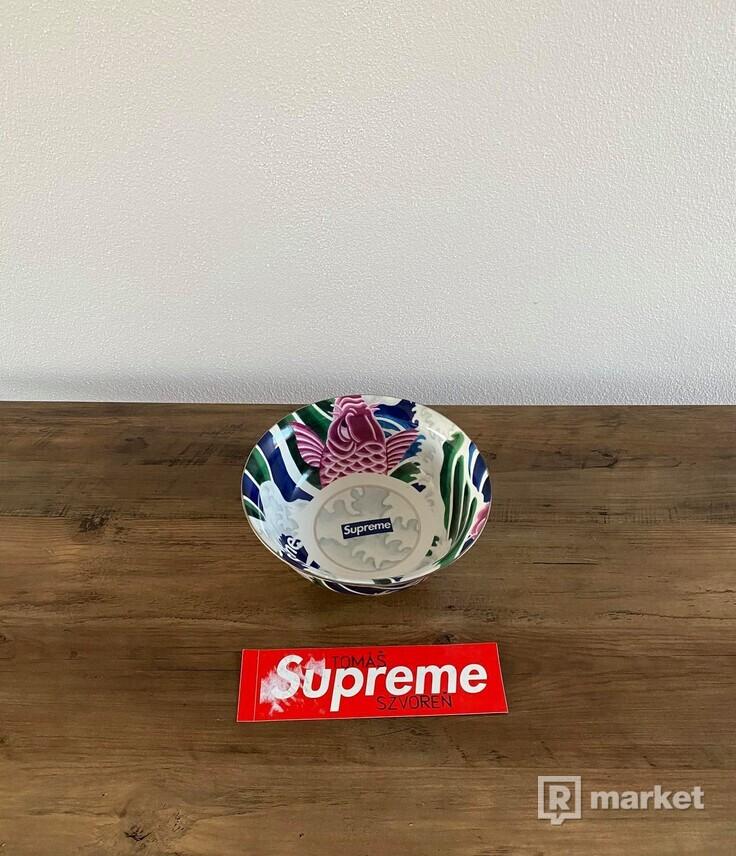Supreme Waves Ceramic Bowl Multicolor