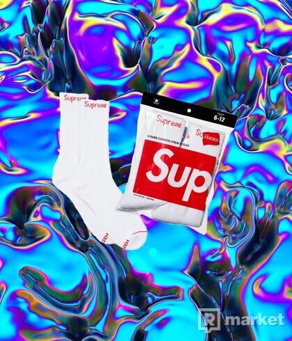 Supreme Hanes Socks- posledný pár