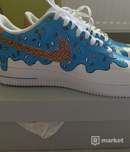 "Nike Air Force 1 Low Custom ""Icecream"""