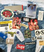 Stickers (Supreme,Bape,Palace)