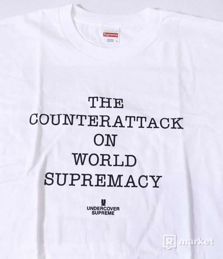 Supreme x Undercover x Public enemy longsleeve
