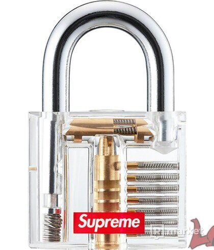 Supreme Transparent Lock/zámok