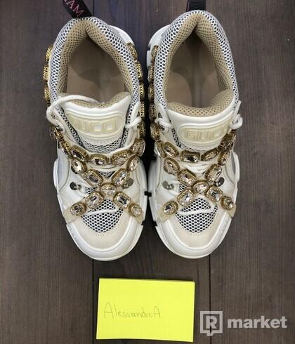 Gucci Flashtrek Sneakers White