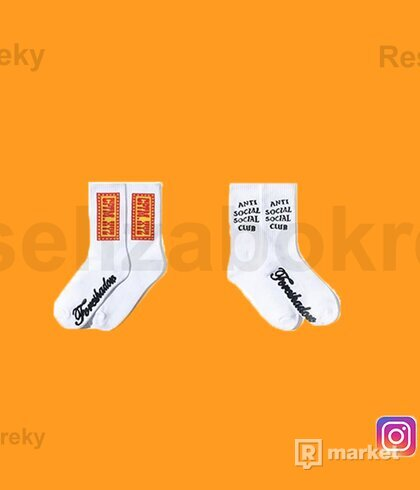 CPFM X ASSC White Socks