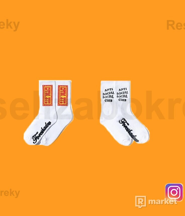 CPFM X ASSC White Socks