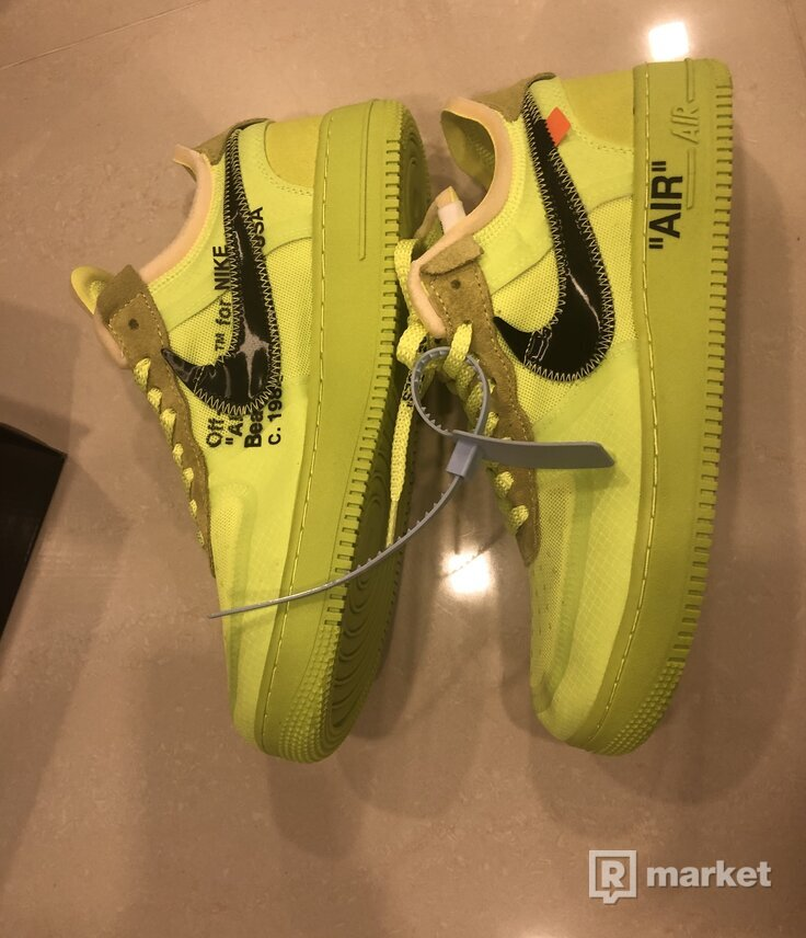 "THE 10: NIKE AIR FORCE 1 LOW ""OFF-WHITE"""