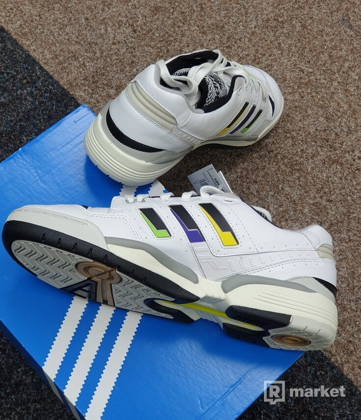 Adidas Torsion Edberg white black