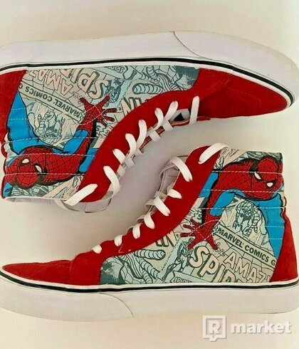 Vans 2013 Spider-Man Sk8 High
