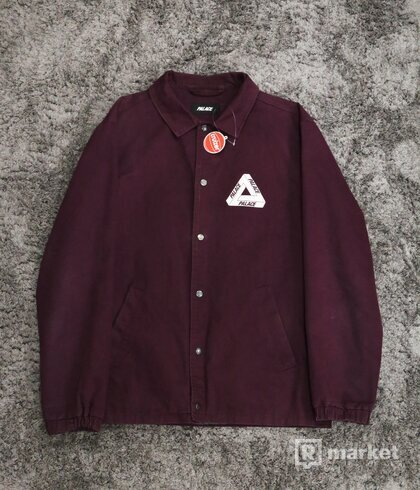 Palace Tri-Ferg Coach Jacket Burgundy 2014
