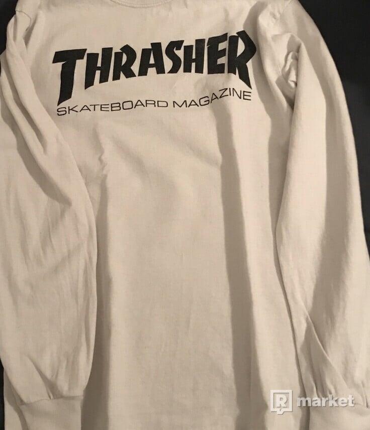 Thrasher - Skate Mag white tee