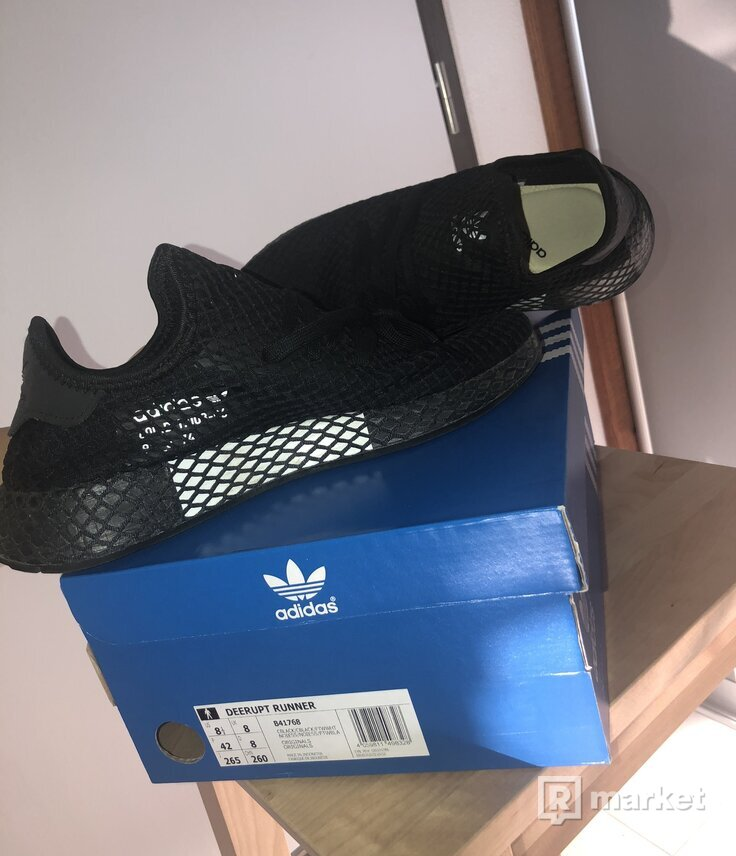 ADIDAS DEERUPT RUNNER BLACK