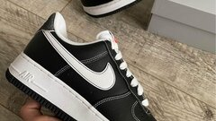Nike Air Force 1 First Use Black