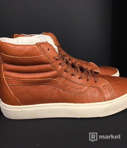 Vans Sk8-Hi Cup California Leather Henna/ Turtledov
