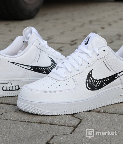 "Nike Air Force 1 Low ""Sketch"" - vel. 44"