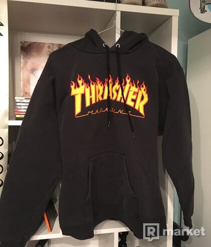 THRASHER MIKINA FLAME