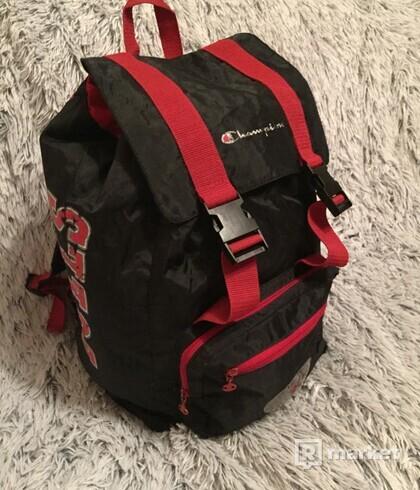 RARE Oldschool Champion Chicago Bulls Ruksak Backpack