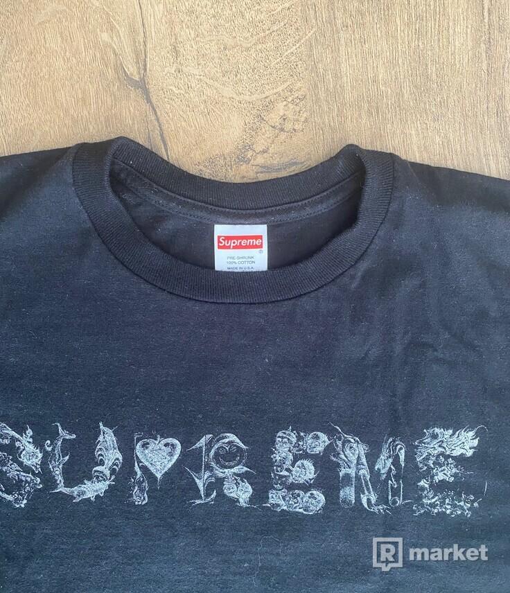 supreme tričko 9/10