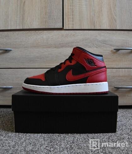 Nike Air Jordan 1 Mid Banned GS