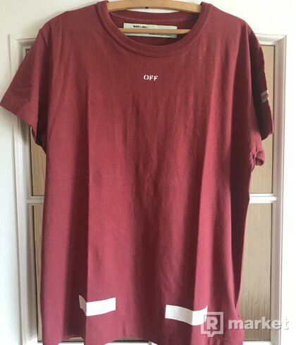 Off White Red arrows tee
