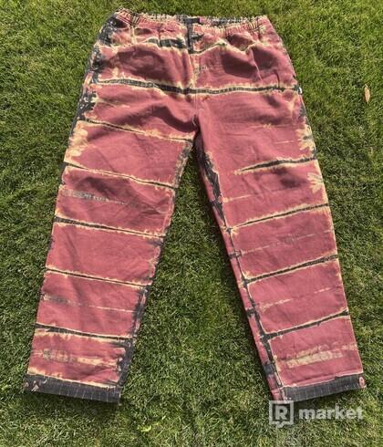Stussy pants custom jean jeans nohavice