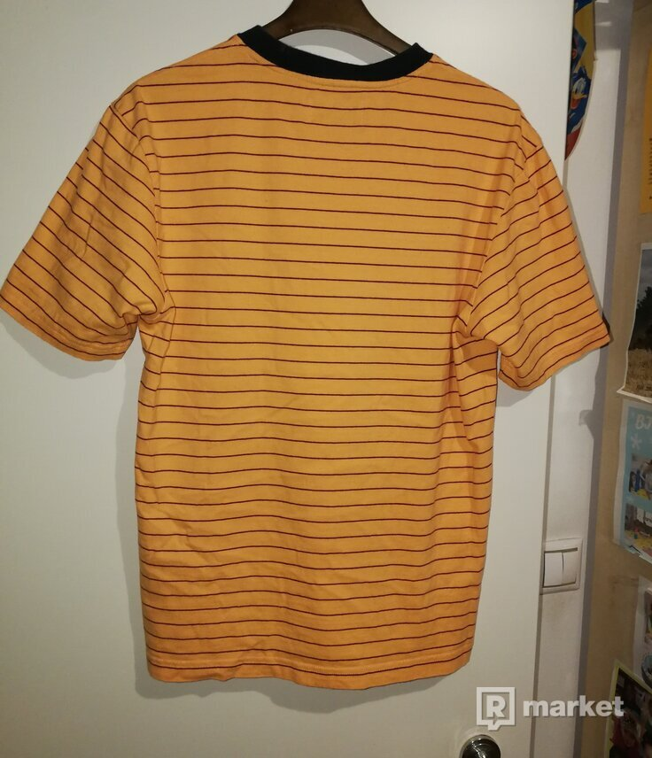 Palace petit stripe triferg orange tee