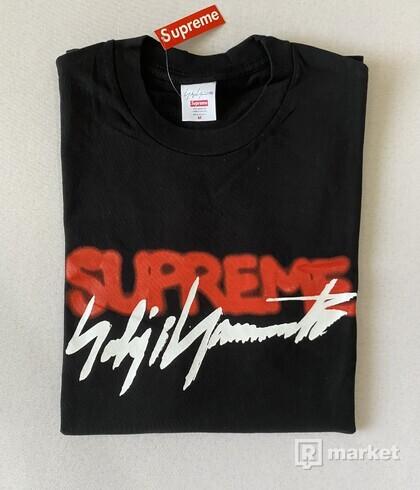 Supreme Yohji Yamamoto Logo Tee Black