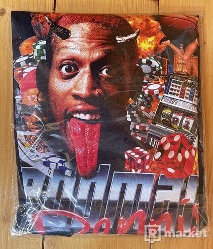 Skedda Dennis Rodman Tee Black 2#