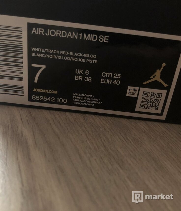 Nike Air Jordan 1 Mid Union
