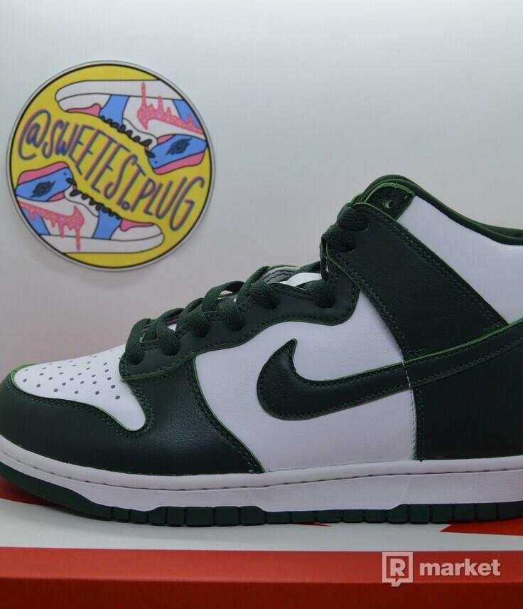 Nike SB Dunk High Spartan Green
